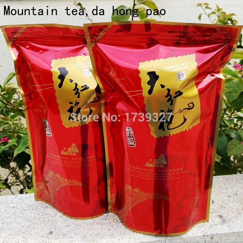 da hong pao,Fujian oolong tea,Wuyi Mountain Dahongpao,250g natural original ecological tea,green and healthy food,free shipping(China (Mainland))