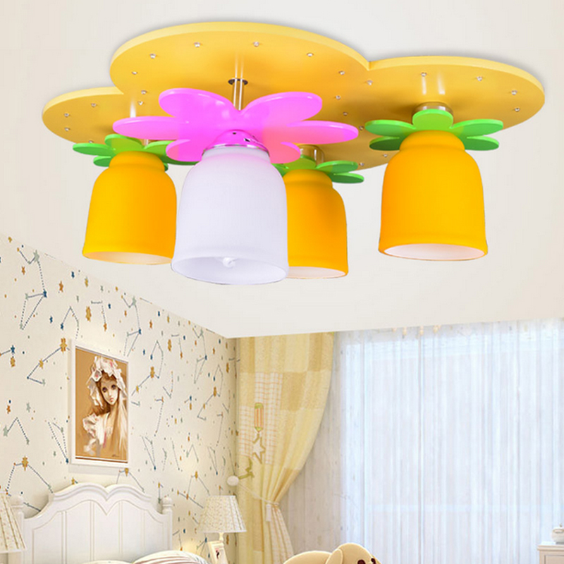 Surface Mounted Led Kids 39 Bedroom Ceiling Lights Girls 39 Cartoon Ceiling Lamps In Ceiling Lights