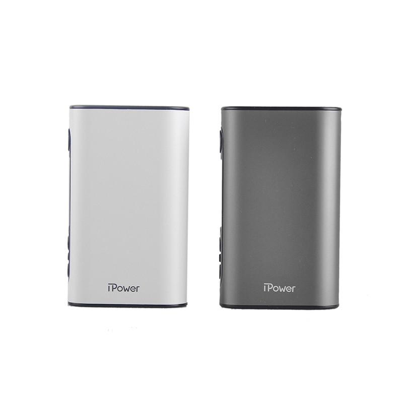 ถูก เดิมEleaf iPower TC 80วัตต์สมัยกล่องที่มี5000มิลลิแอมป์ชั่วโมงแบตเตอรี่บุหรี่อิเล็กทรอนิกส์Vapeกับอัพเกรดเฟิร์มแว