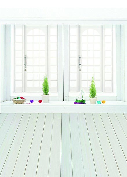 Backgrounds Vast Interior House Large Windows As Simple And Clean Si Photo Lk 1180(China (Mainland))