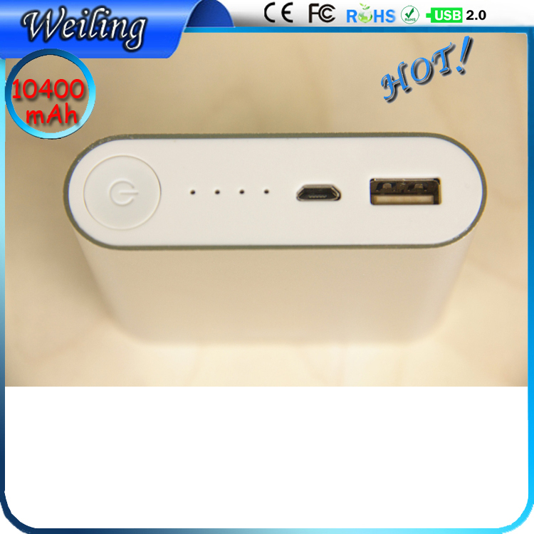 OEM easy life of power bank 10400mah handphone power bank for smartphone /ipad/camera/iPhone/Samsung(China (Mainland))