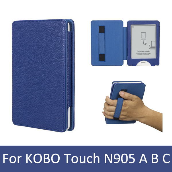 New fashion Smart protective case cover for KOBO touch N905 A B C, only sale for kobo touch buyers with high quality(China (Mainland))