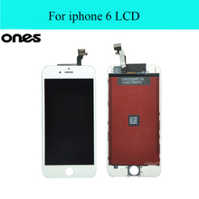 "Best AAA Quality replacement parts LCD For pantalla ecran iPhone 6 LCD iphone6 Display Touch Screen 4.7"" Digitizer Assembly"
