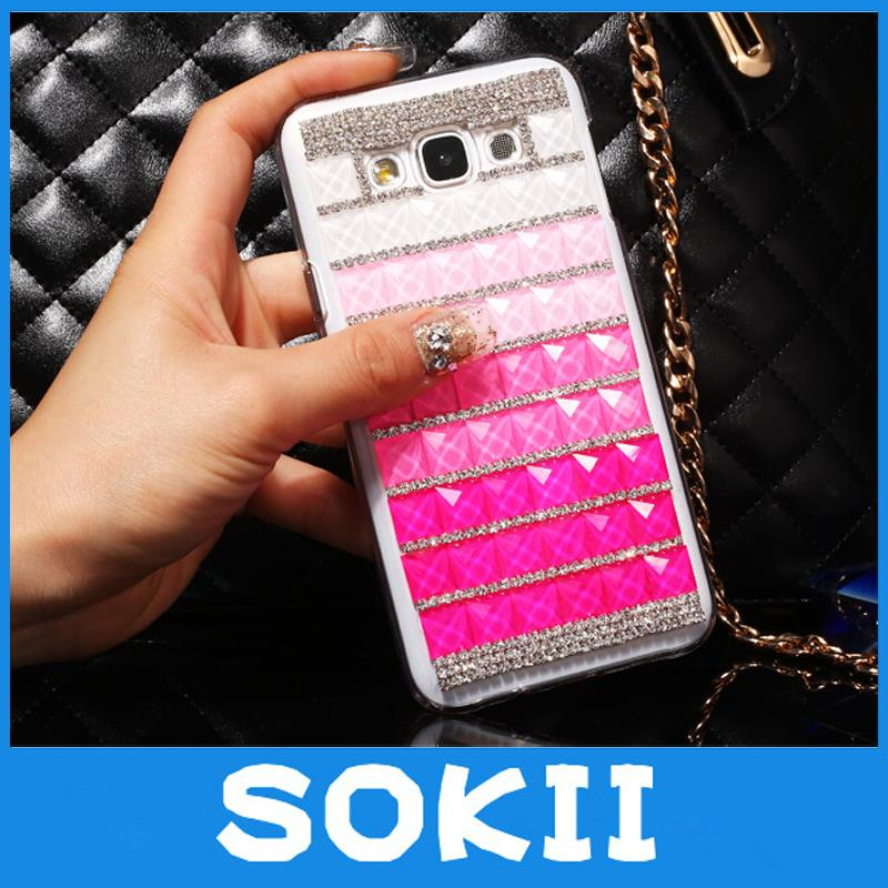 3D Luxury Bling Crystal Fashion Designed Diamond Rhinestones Case Cover For Motorola Droid Razr M XT907/ Droid RAZR i XT890 Case(China (Mainland))
