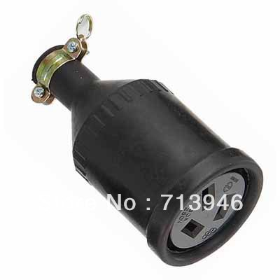 WJ-7320B 3P 20A 250V Rubber connector, China Austria Socket, New Zealand Power Wiring Receptacle, Australia 3 Pin Outlet - Rong Kuang Electric Co.,Ltd. store