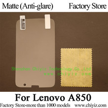 Matte Anti glare Frosted LCD Screen Protector Guard Cover Protective Film Shield For Lenovo A850 (NOT A850+)