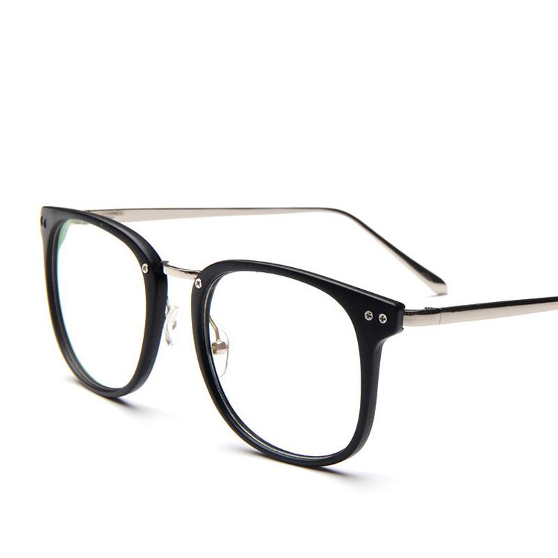 Glasses Frames 2017 Style : 2017 New Style Woman Plain Mirror Retro Fashion Lady ...