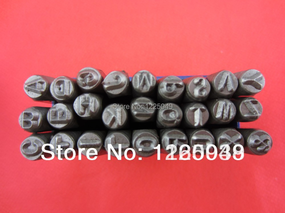 27pcs 5 MM Capital Letter A-Z Punch Stamp Set steel punch tool Jewelry Stamp(China (Mainland))