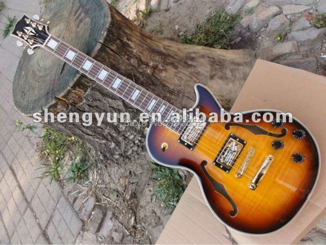 top quality factory LP standard custom 5 binding body flame maple body electric guitar musical instrument shop wholesale&retail