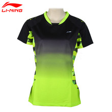 Buy Li-Ning Women's Professional Badminton Shirts Quick Dry Li Ning Breathable Jersey Sports Athletic T-Shirt Lining Tops AAYK128 for $38.22 in AliExpress store