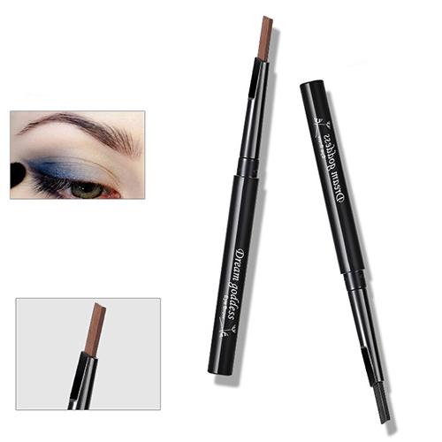 1 Pc Rotatable à prova d ' água delineador sobrancelha Eye Brow Pencil maquiagem caneta cosméticos