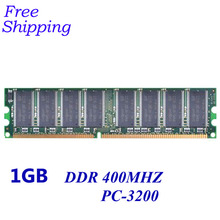 Free Shipping!!!Brand New Sealed DDR 266/ 333/ 400 / PC 3200 1GB Desktop RAM Memory / can compatible with all mortherboard/