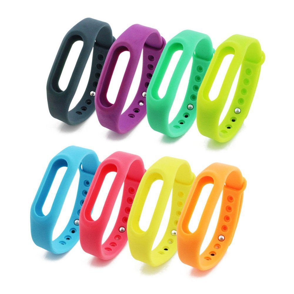 Гаджет  Xiaomi Miband Smart Wristband Sillicone Replace Belt Strap Mi Band Bracelet Replacement Band Accessories None Бытовая электроника