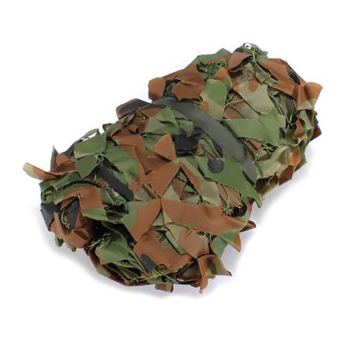 5pcs( 2m x 1.5m Shooting Hide Army Camouflage Net Hunting Oxford Fabric Camo Netting(China (Mainland))