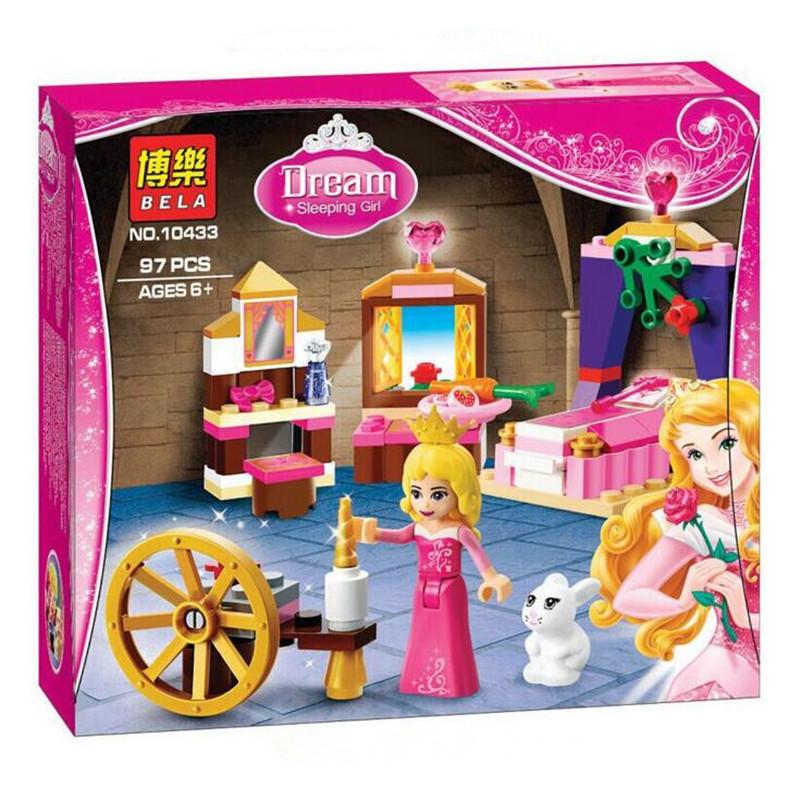 Bela 10433 Dream Sleeping Girl Series Textile Machine Bricks Minifigures Building Block Minifigure Toys(China (Mainland))