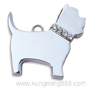 Dog tag,dog pendant,dog jewelry,enamel dog charm,pet promotion accessories,free shipping(China (Mainland))