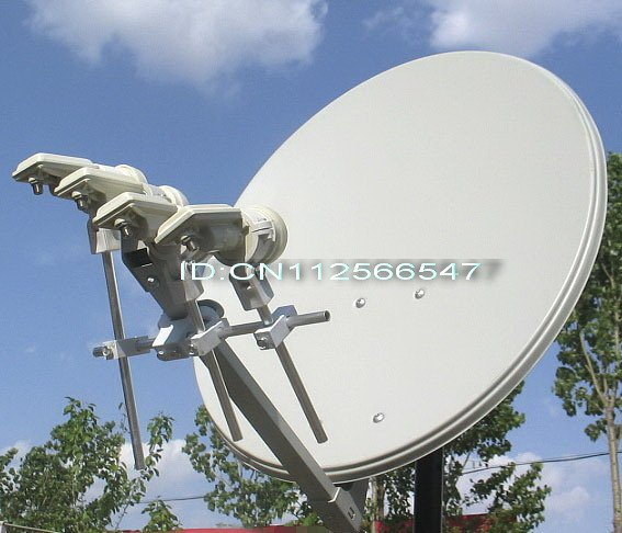 Free shippping,Multi satellite LNB bracket, holder, mount for 4 KU-band, 138+134+146+122(China (Mainland))
