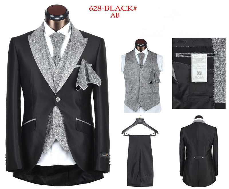 2015 Newest Fashion Brand Design Men's Costume Suits High Qaulity Wholesale Tuxedo Wedding Party Suits For Man Plus Big Size 4XL(China (Mainland))