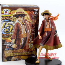 Anime One Piece Monkey D Luffy 15th Edition VO1.3 PVC Action Figure Collectible Toy 16CM