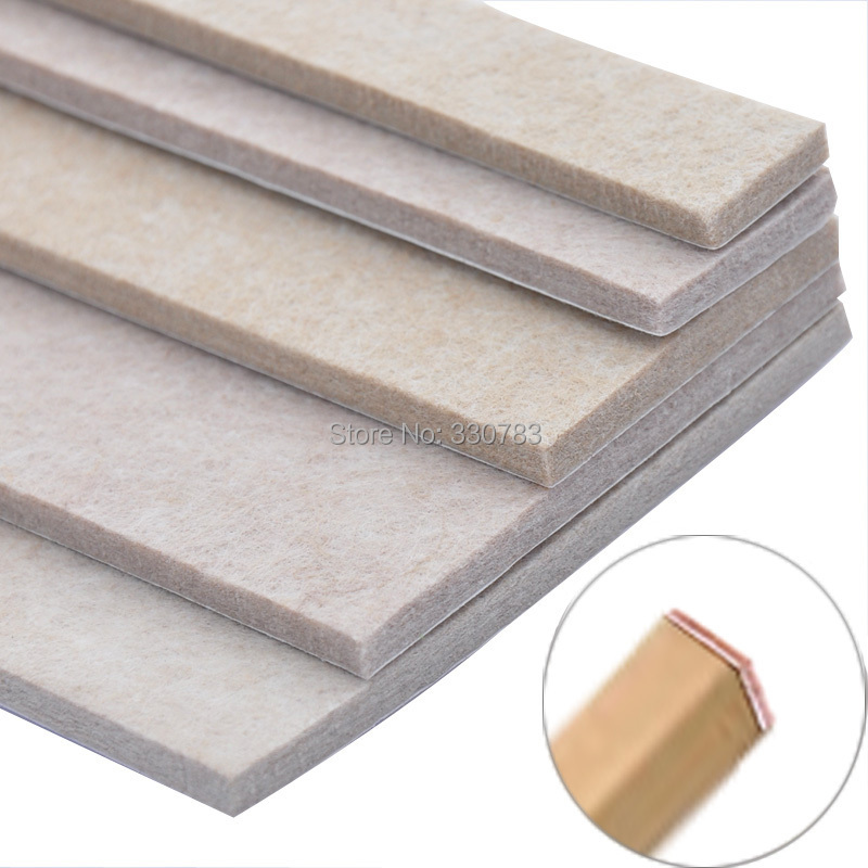 5mm thick felt pad upscale furniture and chairs mat floor protection