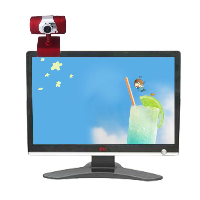 Two Color USB 2.0 HD Webcam Web Cam Camera With Mic For Computer Laptop Desktop #05(China (Mainland))