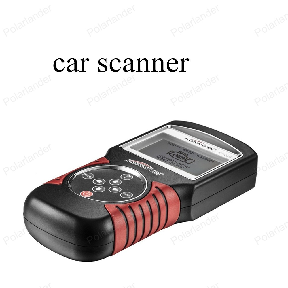 best selling KW820 Fault Reader CAN OBD2 Engine Managment Works For US/Asian/European Vehicles Code Scanner(China (Mainland))