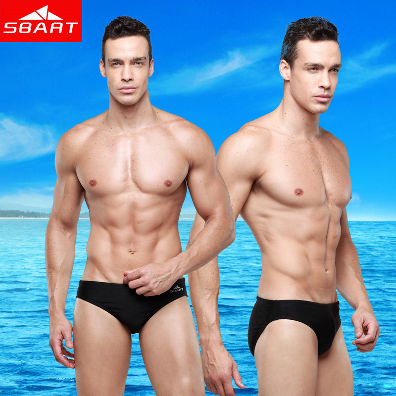 SBART Gay Mens Swimwear Briefs Sharkskin Sexy Men Swimwear Bikini Aussie Swim Wear Male Plus Size Sunga XL XXL 3XL 4XL 5XL F101<br><br>Aliexpress