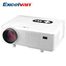 Clearance Excelvan CL720D Full HD Multimedia LED Digital Video Projector 3000 lumens 1280*800 For Home Theater Projector(China (Mainland))