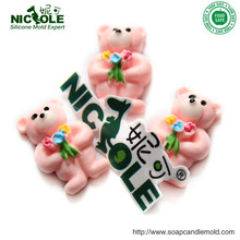 F0648 FACTORY DIRECT Nicole silicone rubber Gummy bears mould(China (Mainland))