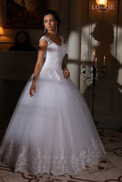 Бесплатная доставка свадебные платья иллюзия назад Большой размер кружева свадебное ...