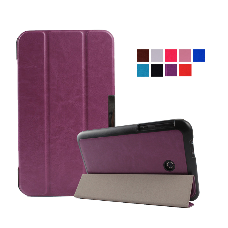 Top quality Magnet pu leather case cover For Asus FonePad 7 FE170CG FE170 K012 tablet cases for asus fe170cg(China (Mainland))