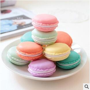 Cute Candy Color Macaron Mini Storage Box Jewelry Box Pill Case Birthday Gift(China (Mainland))
