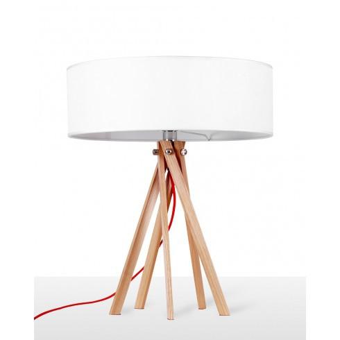 contemporary multi leg table lamp nordic style wood desk light for bedroom li. Black Bedroom Furniture Sets. Home Design Ideas