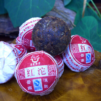 Chinese Mini Yunnan Puer Tea Black Tea Flavor Pu er Puerh Tea Green Slimming Coffee 10pcs