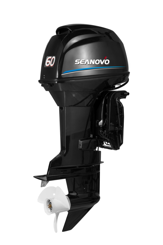 2 Stroke 60hp Outboard Motor In Boat Engine From