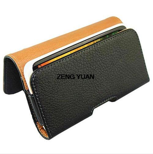 New Smooth Pattern Lichee Pattern PU Leather font b Phone b font Belt Clip for InFocus
