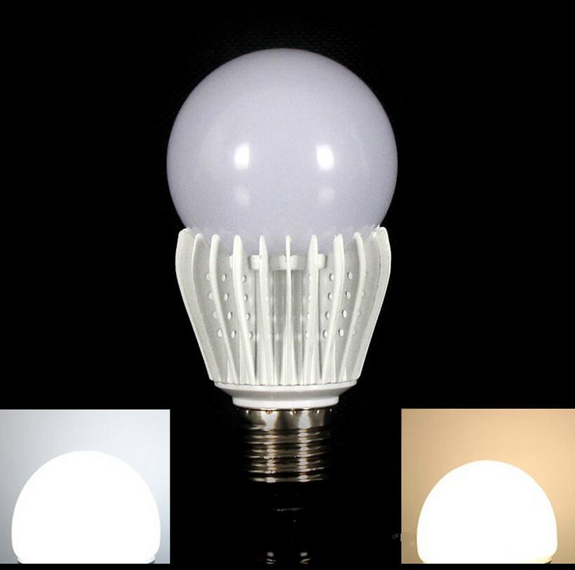 Wholesale  E27/B22 5W 9W 12W  220V LED Bulb Lamp Warm Cold White CE FCC LED Light Bulb LED Lamp Spotlight Free Shipping<br><br>Aliexpress