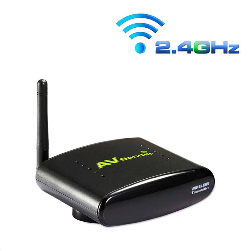 PAT-240 2.4G Audio and Video Single Receiver Only Support IR Remoter Wireless AV Sender with EU US UK AU plug for PAT240(China (Mainland))