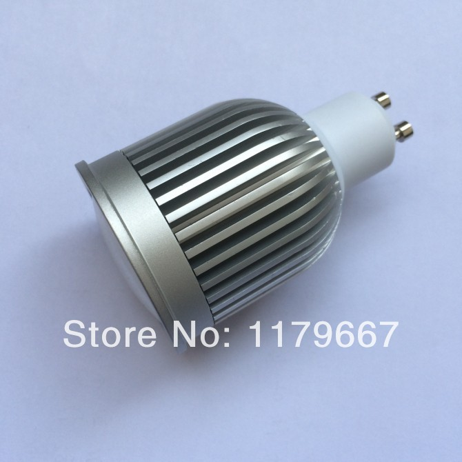 20x Discount Ship 9W COB LED GU10 dim or non-dim LED spotlight with WW OR CW COLORS 2 years warranty(China (Mainland))