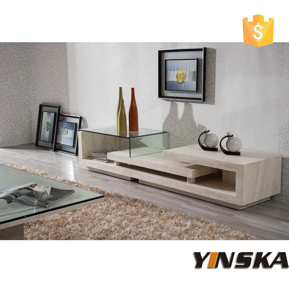 fancy design marble tv stand furniture stone tv cabinet