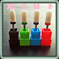 4PCS LOT Ceramic Electric Nail Drill Bit Cutter Nail Files for Nail Electric Drill Manicure Device