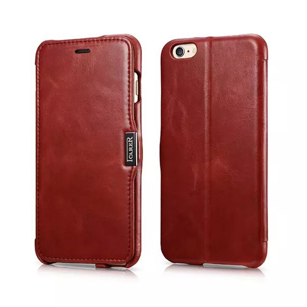 iPhone 6 Plus Bag Retro Series Genuine Leather Magnetic Stand Case Card Holder Apple 5.5 inch Wallet - Best Accessory store