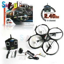 UDI toys U818A# 2.4GHz 4 CH 6 Axis Gyro RC Quadcopter with Camera (RTF Mode 2). Free Shipping.