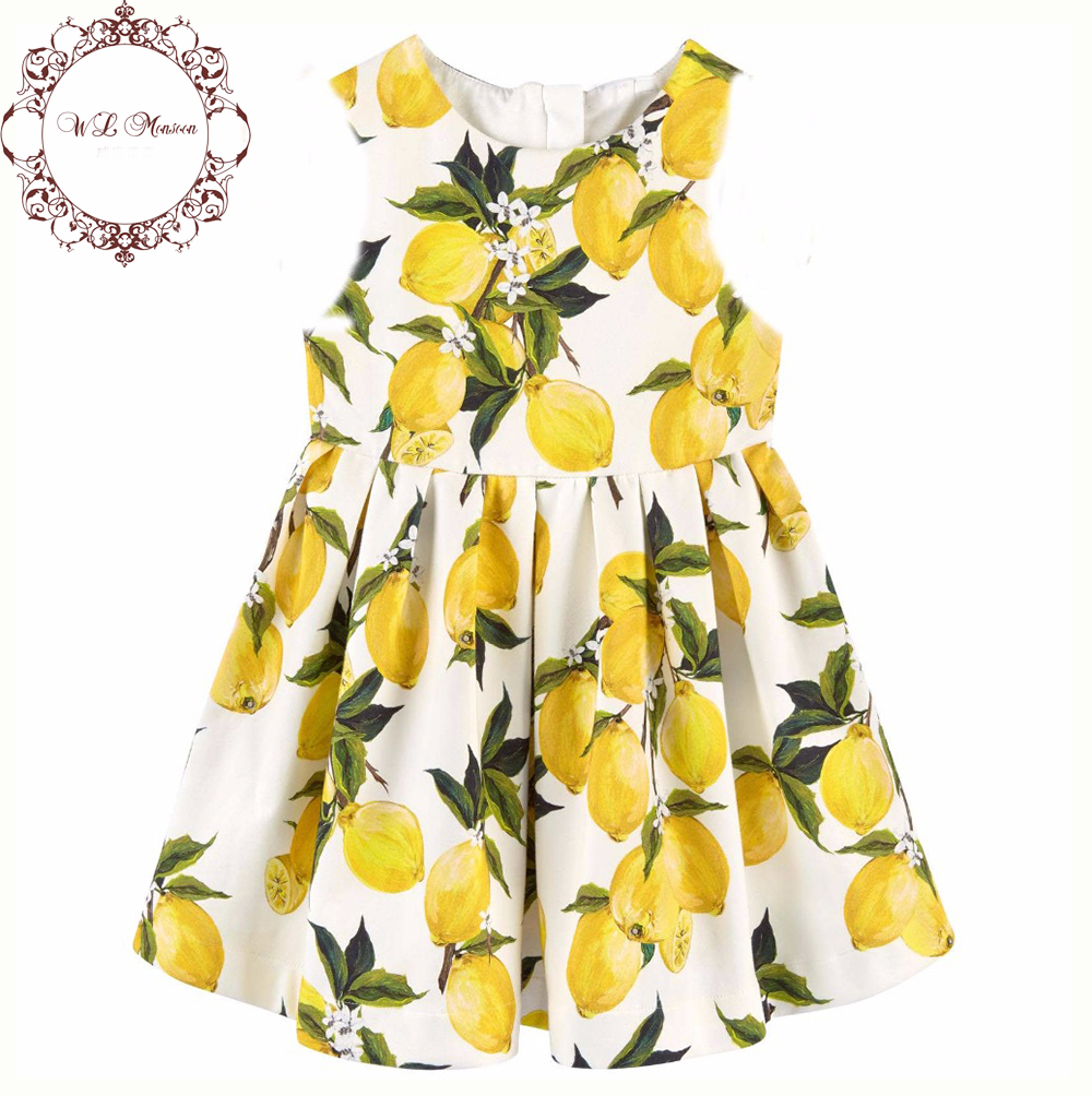 Lemon Print Baby Clothes