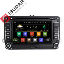 Android 5.1.1! Quad Core 1.6G! 7 Inch Car DVD Player For VW/Volkswagen/POLO/PASSAT/Golf/Skoda/Octavia Canbus Wifi GPS BT FM Map(China (Mainland))