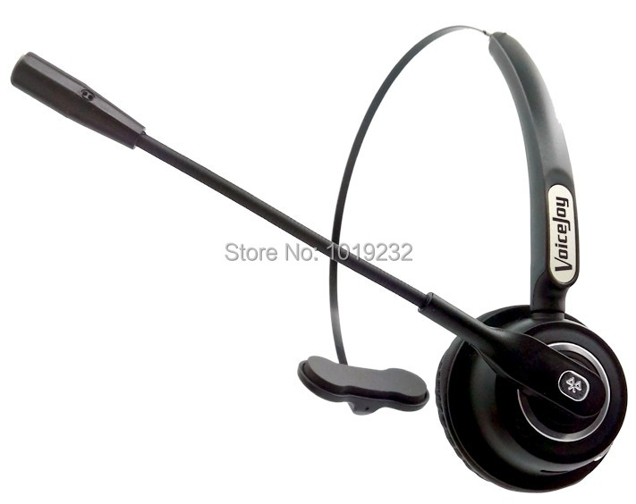 Bluetooth Headset, Wireless Bluetooth Earpiece with Mic, Over the Head Headset for Cell Phone, Call Center, VoIP, Skype, Music(China (Mainland))