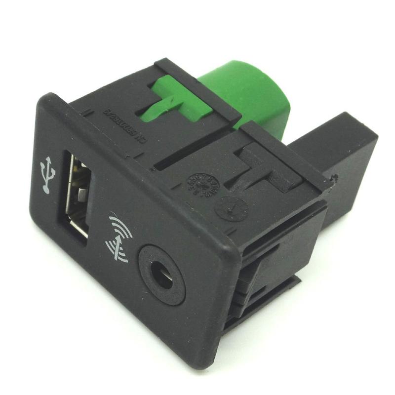 .com : Buy USB+AUX IN SWITCH ADAPTER PLUG For Volkswagen VW Passat ...