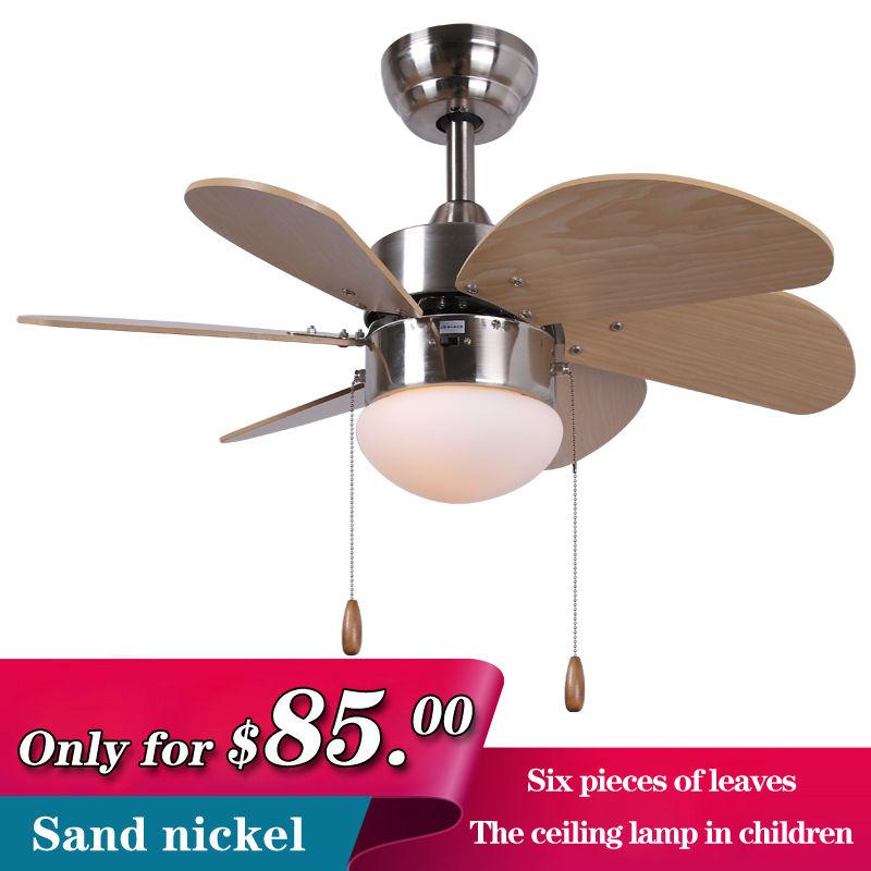 fan light wood blades e27 lamp study bedroom fan lamp in ceiling fans