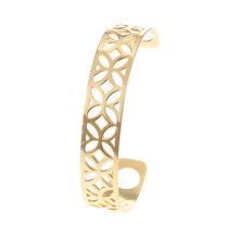 Cremo mankiet bransoletki dla kobiet dziewczyna biżuteria bransoletka ze stali nierdzewnej Femme ramię ręka geometria bransoletka wymienny skórzany pasek(China)