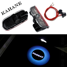 2X LED Car Door Light Passat Logo Projector welcome guest light FOR VW Golf 5 6 7 Jetta MK5 CC Tiguan Scirocco b6 b7 - Kahane Accessories Co.,Ltd store